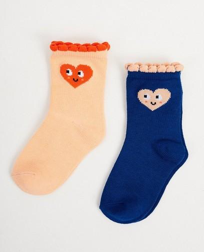 Deux paires de chaussettes