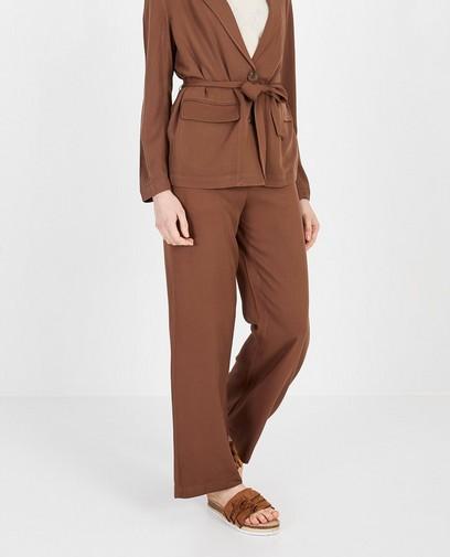 Pantalon brun Katja Retsin