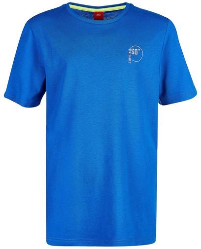T-shirt bleu s.Oliver