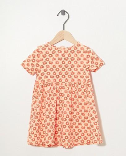 Roze jurk met print BESTies