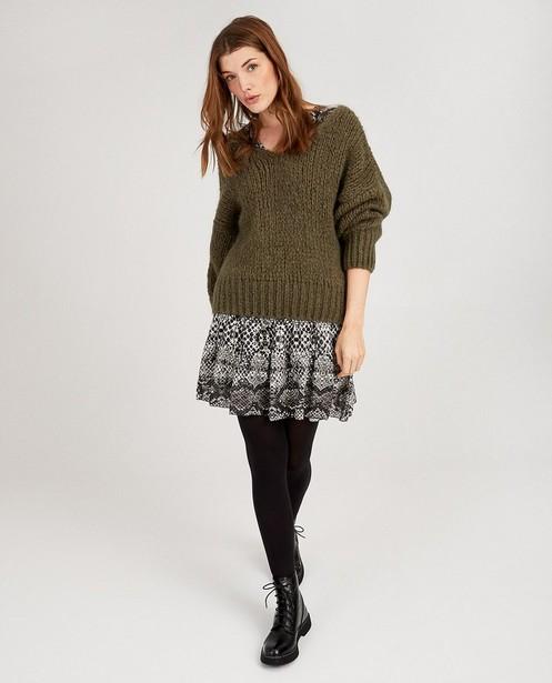 Pull en tricot Ella Italia - col en V - ella