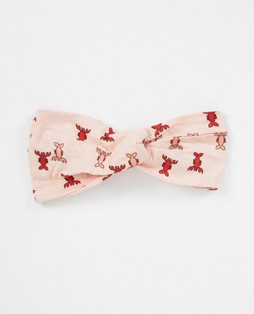 Roze haarband met kreeftprint - allover - JBC NL