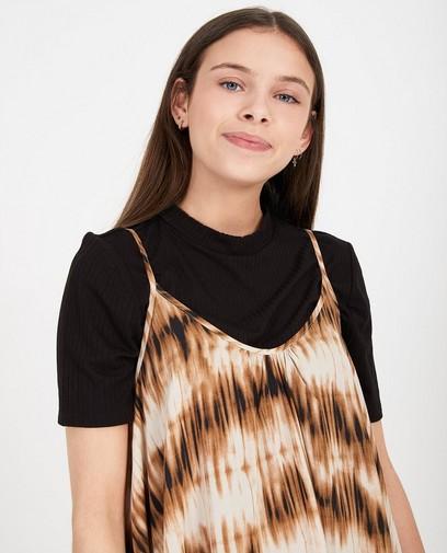 Zwart T-shirt Katja Retsin