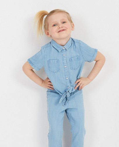 Lichtblauw hemdje van lyocell
