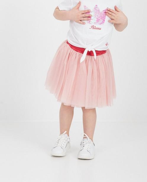 Jupes - Roze rokje met tule Prinsessia