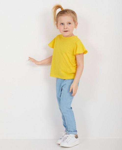 Pantalon bleu clair en lyocell - null - Milla Star