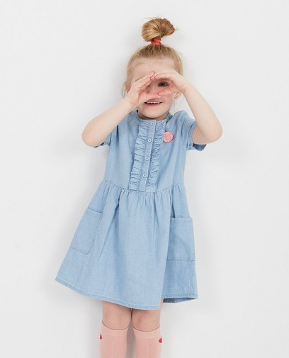 Lichtblauwe jurk Prinsessia