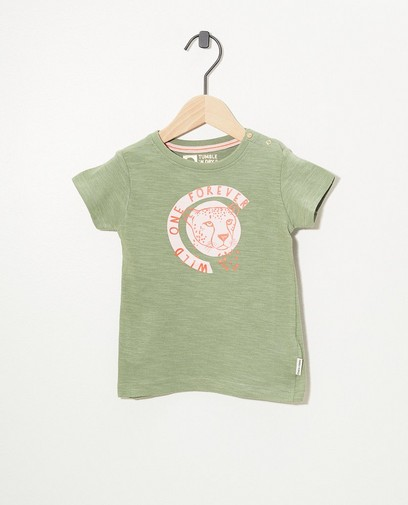 Groen T-shirt Tumble 'n Dry