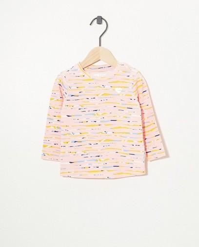 T-shirt rose à manches longues Tumble 'n Dry