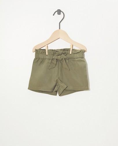 Kurze Shorts in Grün