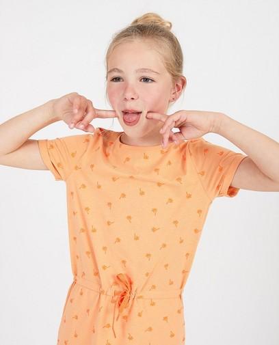 Robe orange, imprimé BESTies
