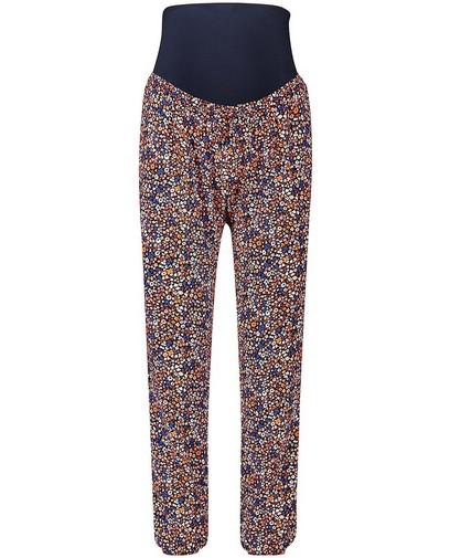 Pantalon bleu, imprimé JoliRonde