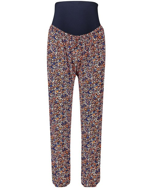 Pantalon bleu, imprimé JoliRonde - grossesse - Joli Ronde