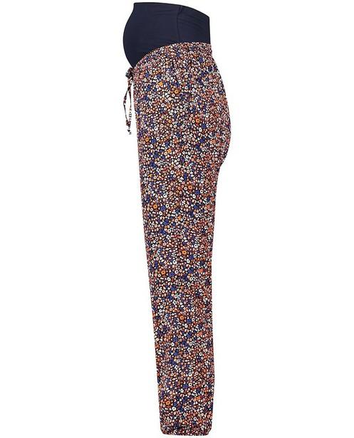 Pantalons - Pantalon bleu, imprimé JoliRonde