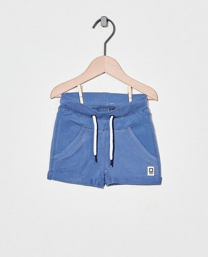 Blauwe sweatshort Tumble 'n Dry