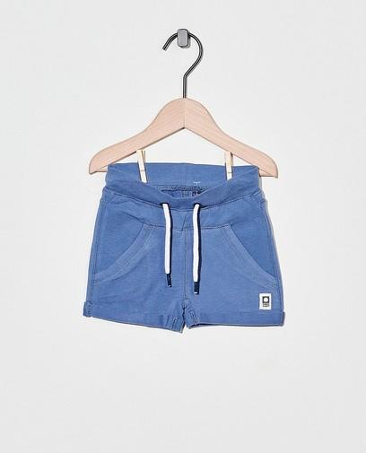 Short molletonné bleu Tumble 'n Dry