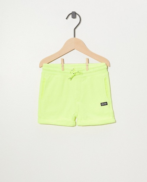 Shorten - Gele sweatshort Tumble 'n Dry