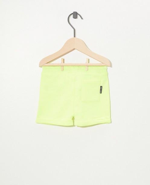Gele sweatshort Tumble 'n Dry - Stretch - Tumble 'n Dry