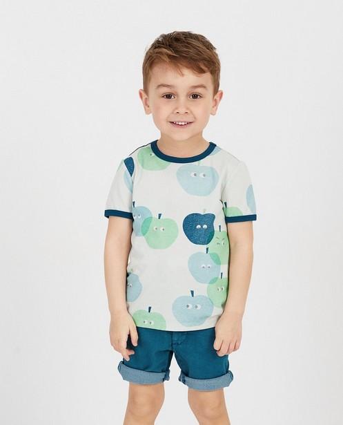 T-Shirts - Lichtgroen T-shirt met print