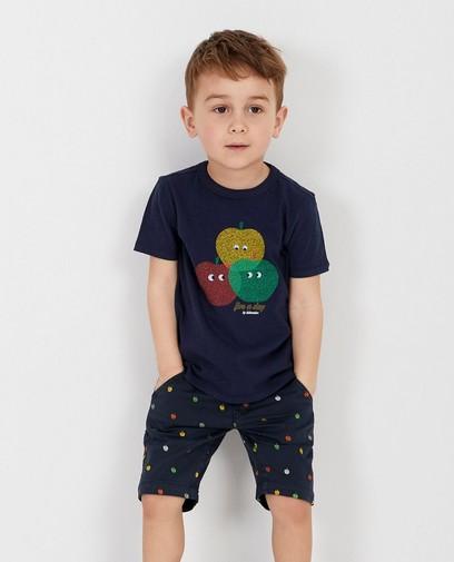 Groen T-shirt met print