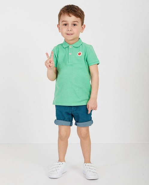 Polo vert pâle - null - Kidz Nation