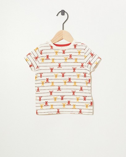 T-shirt blanc, homards