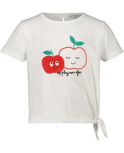 T-shirt blanc à imprimé