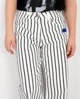 Jeans - Witte broek met print Gers Pardoel