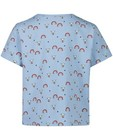 T-shirts - Blauw T-shirtje met print Samson