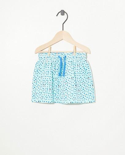 Jupe bleue en coton bio Bumba