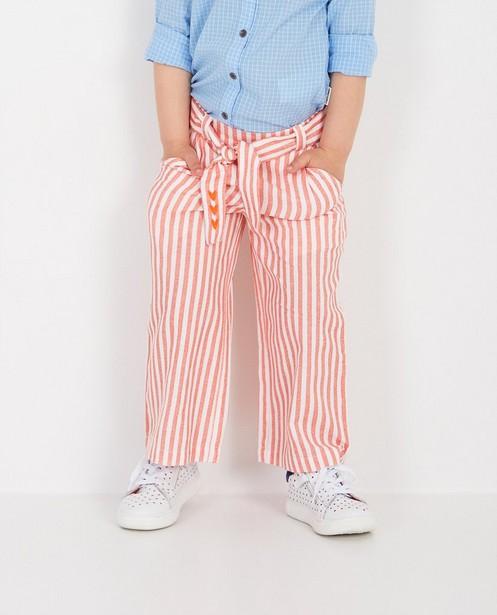 Pantalons - Jupe-culotte rayée Tumble 'n Dry