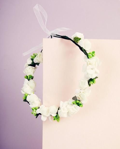 Bonneterie - Couronne de fleurs - Communion