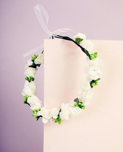 Couronne de fleurs - Communion