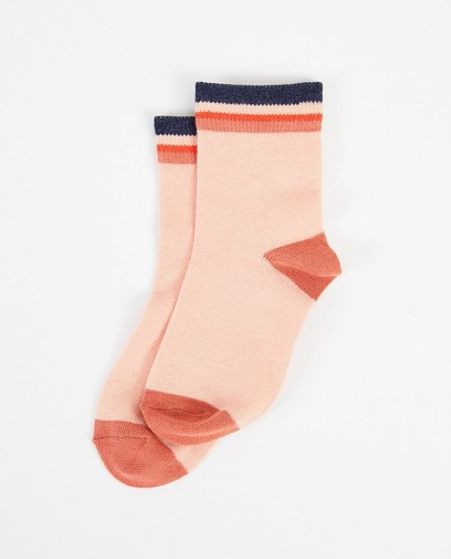 Chaussettes roses