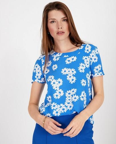 Blauw T-shirt met print Sora