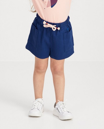Blauwe short Plop
