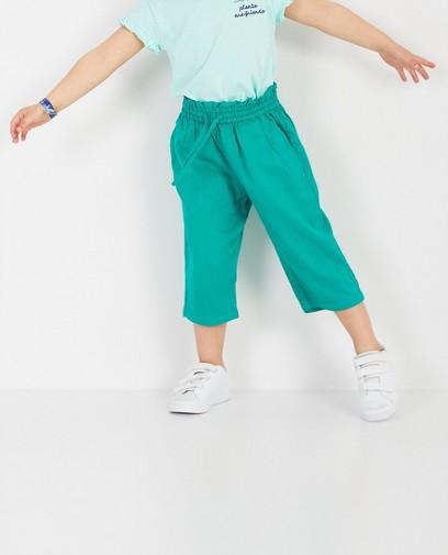 Groene culotte Heidi