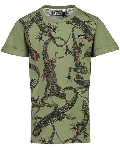 T-shirt met print Tumble 'n Dry
