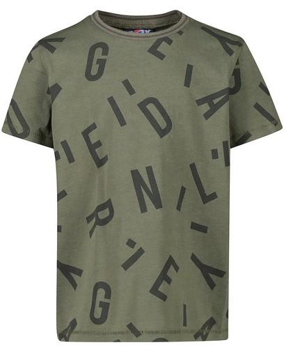 Wit T-shirt met print Rox