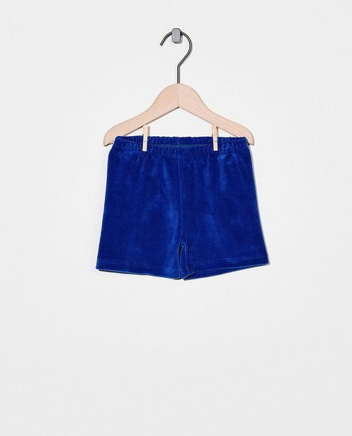 Short en éponge bleu Froy & Dind - bleu cobalt - Froy en Dind