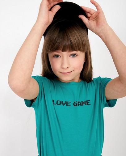 T-shirt met opschrift Gers Pardoel