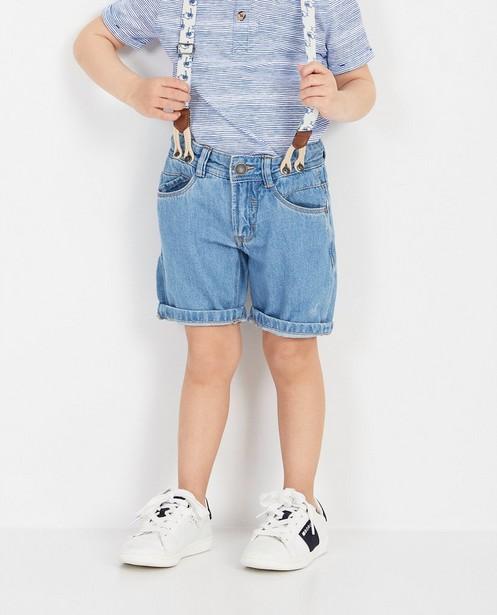 Shorts - Short bleu Vic le Viking