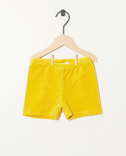 Short en éponge jaune Onnolulu