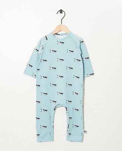 Pyjama bleu avec imprimé Onnolulu