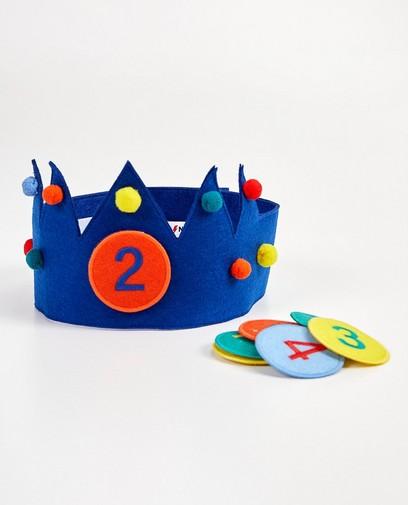 Blauwe verjaardagskroon, 2-8 jaar