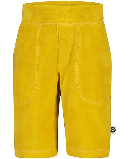 Bermuda jaune foncé Onnolulu - stretch - Onnolulu