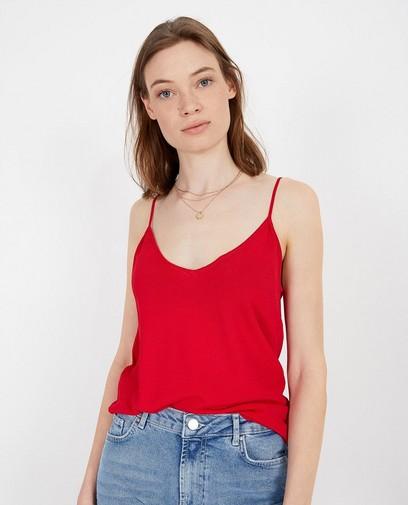 Top rouge Karen Damen