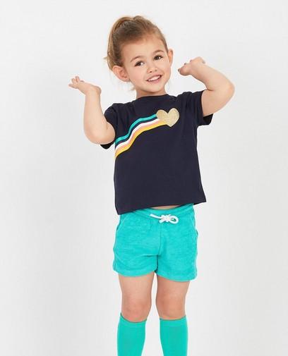 T-shirt avec arc-en-ciel BESTies
