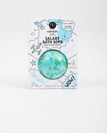 Blauwe galaxy badbom Nailmatic