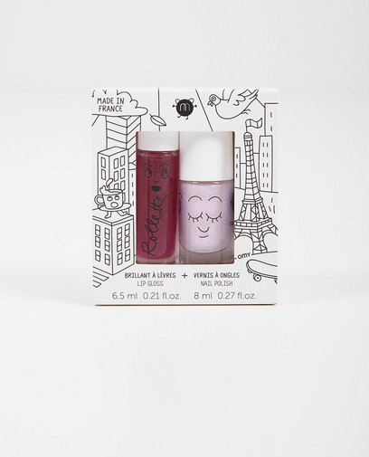 Lipgloss + vernis Nailmatic